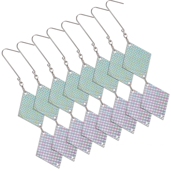 Hanging Bird Deterrent Repellent Discs - 8 Pack (FREE Delivery for x3 or more packs) 3